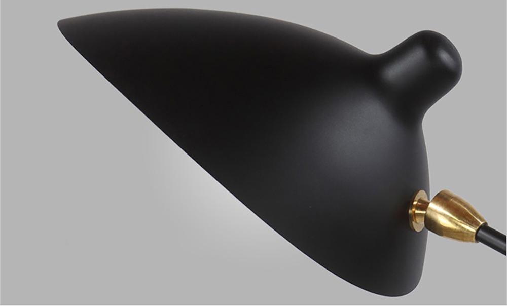 Потолочный светильник  Six Arms by Serge Mouille (белый)