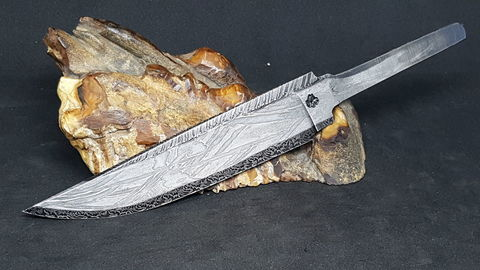 Клинок из метеорита Сеймчан