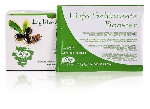 """Порошковый усилитель осветления волос """"Linfa Schiarente Booster Lightener powder""""  (1x25 гр)"""
