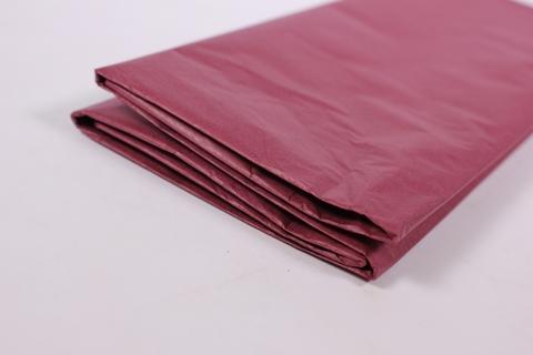 Бумага Тишью бордовая 50*65 см, 10 листов