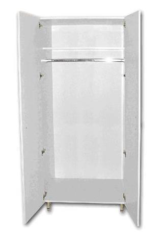 Шкаф медицинский для спец одежды ШМСО-01 (мод.2) - фото