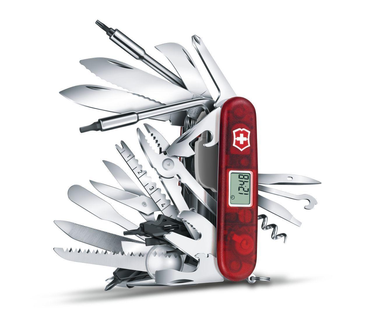 Коллекционный многофункциональный складной нож Victorinox SwissChamp XAVT (1.6795.XAVT) - Wenger-Victorinox.Ru