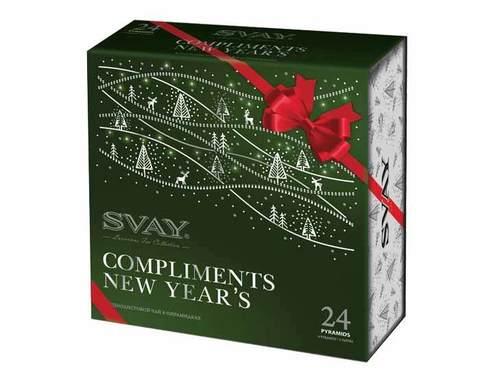 Подарочный набор 4 вида чая Svay Compliments New Year's
