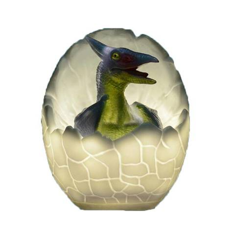 Светильник - ночник Динозаврик в яйце Птерозавр