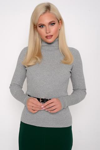 <p>Модный джемпер (меланж) из мягкого кашемира отлично сочетается с юбкой, брюками и джинсами, создавая стильный ансамбль практичности и утонченности.</p> <p><span>(Один размер: 42-48)</span></p>