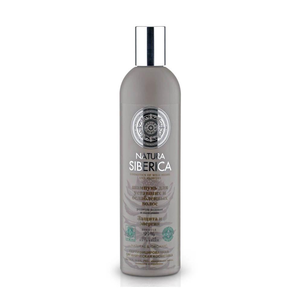 Шампунь для уставших и ослабленных волос защита и энергия