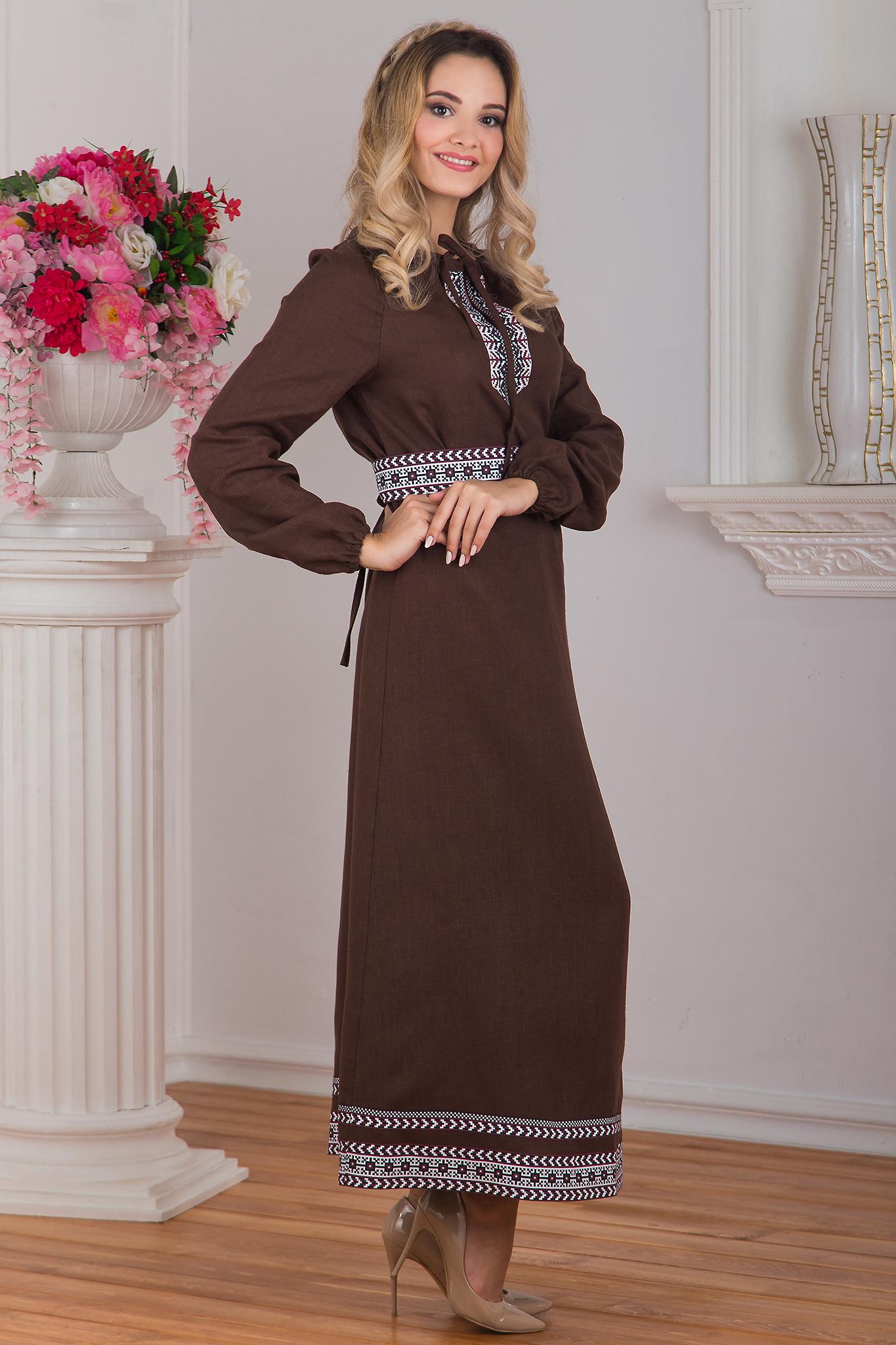 Платье в русском стиле Новгородское