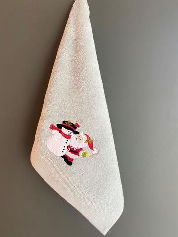 Кухонное полотенце Новый Год NOEL BABA KARDANADAM 45x70 La Villa Турция