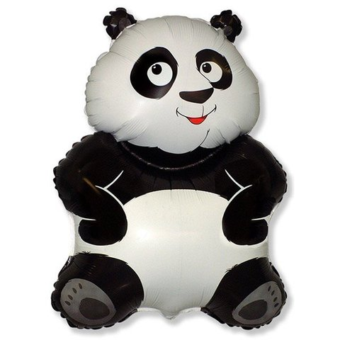 Фольгированный воздушный шар Большая панда.