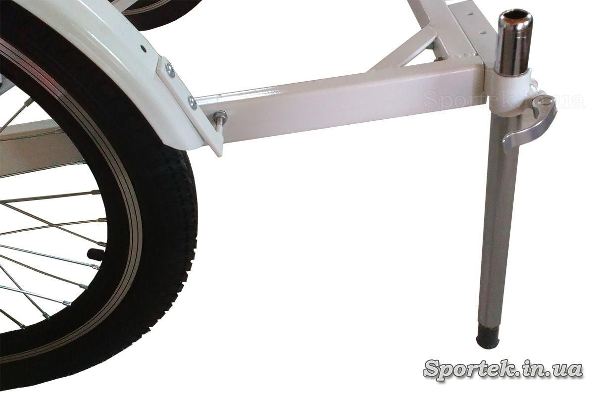 Стояночный упор для передней грузовой платформы