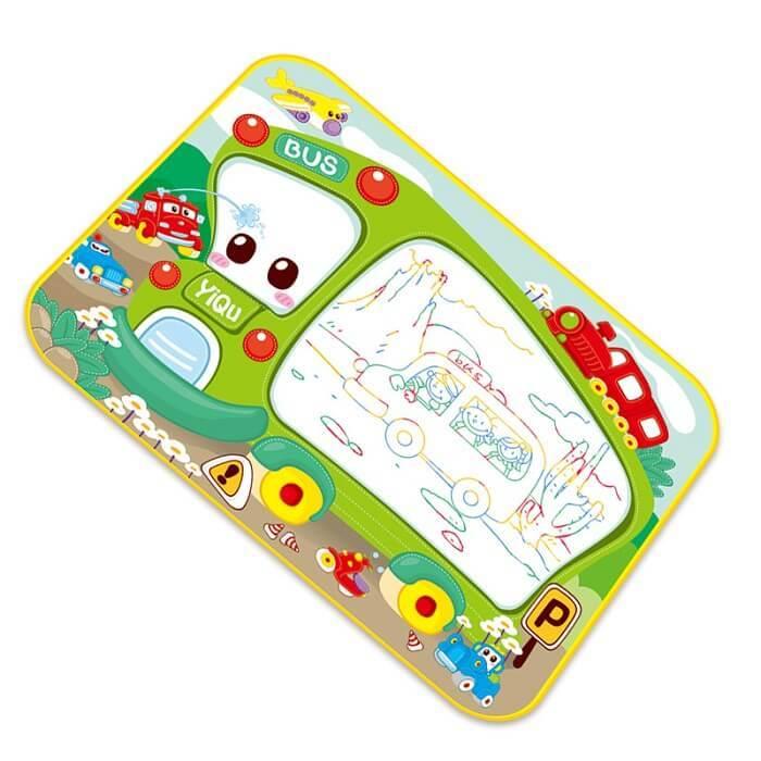 """Интересно детям Коврик для рисования водой """"Автобус"""" ecb71c70064f950aae79eec3a3361be1.jpg"""