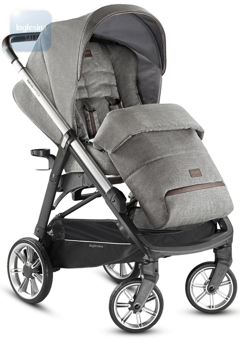 Прогулочная коляска Aptica, цвет MINERAL GREY