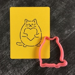 Кот с сердцем №6