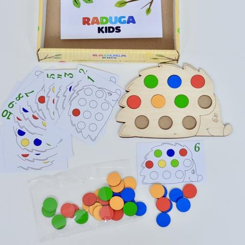 Игра Повтори за ежиком RADUGA KIDS, 3+