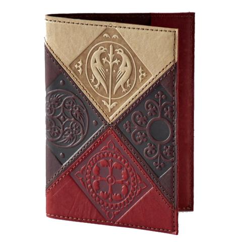 Обложка на паспорт | Средневековый | Коричневый