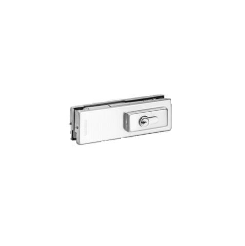 FS-L10 SSS (AISI 304) Замок угловой для стеклянных дверей толщиной 10, 12 мм. Notedo