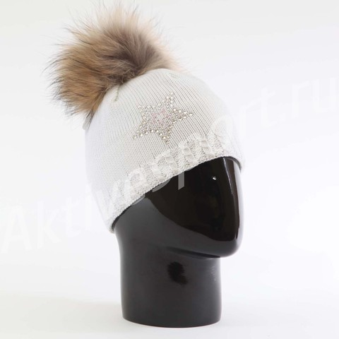 Картинка шапка Eisbar selina fur crystal 100 - 2