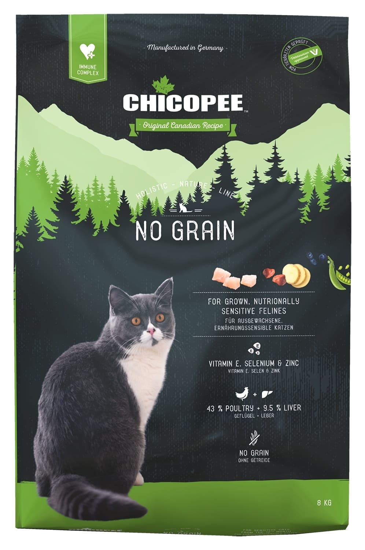 Купить корм CHICOPEE HNL Cat No Grain для кошек