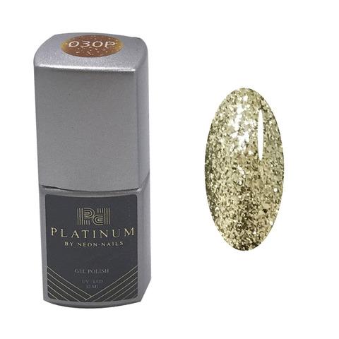 Гель-лак с золотом PLATINUM