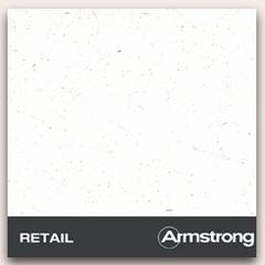 АРМСТРОНГ Плита потолочная Ритейл  600х600х12мм (уп.20шт) кромка Борд