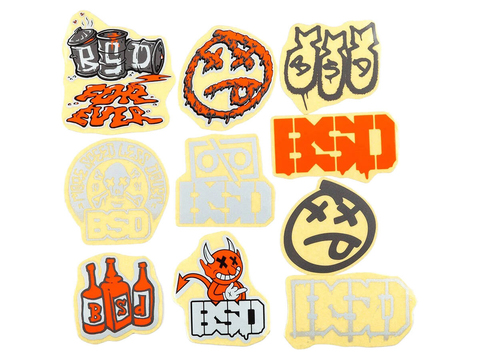 Набор наклеек BSD 10 Pack Mixed 2021