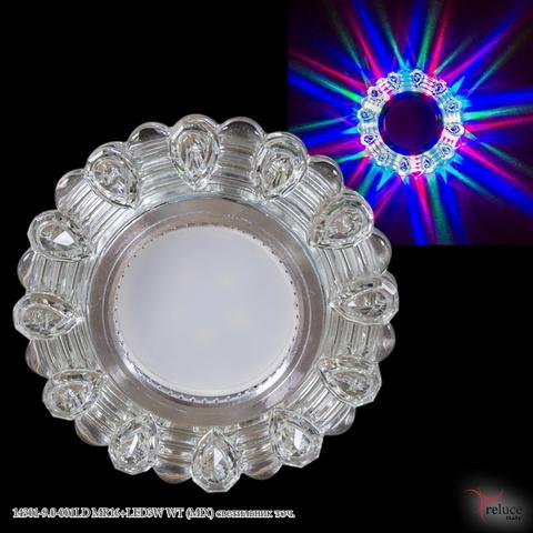14301-9.0-001LD MR16+LED3W WT (MIX) светильник точ.