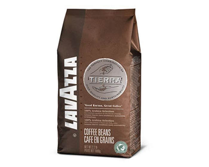 Кофе в зернах LavAzza Tierra Intenso, 1 кг (Лавацца)