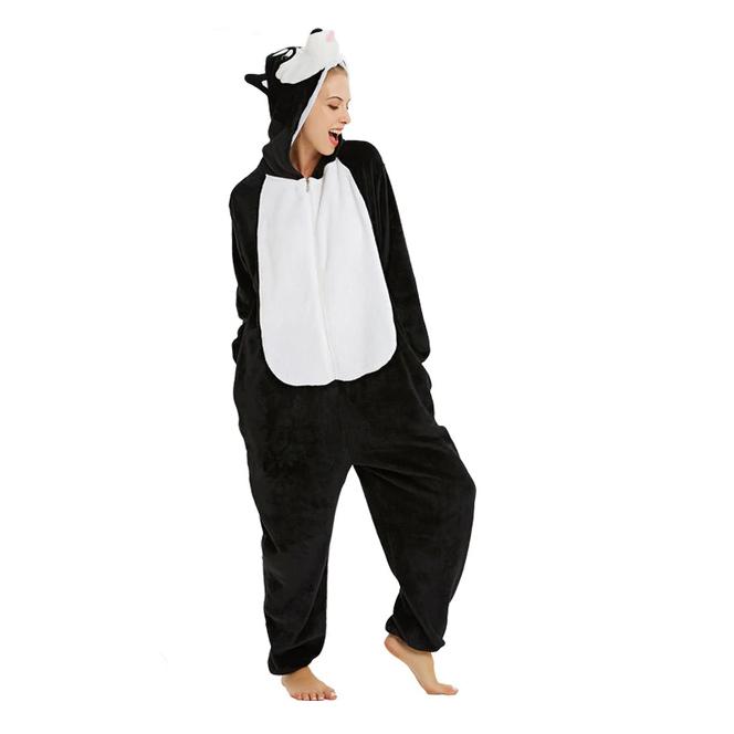 Плюшевые пижамы Хаски на молнии 1.jpg