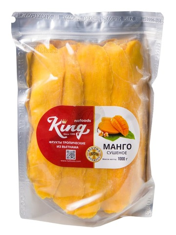 Манго сушеное Premium 1 кг