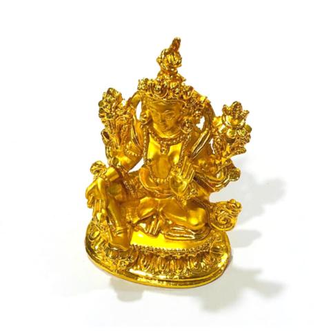 Фигурка Богиня Тара золотая