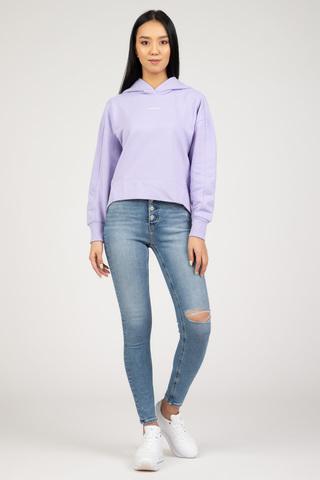 Женское худи Calvin Klein MICRO BRANDING HOODIE