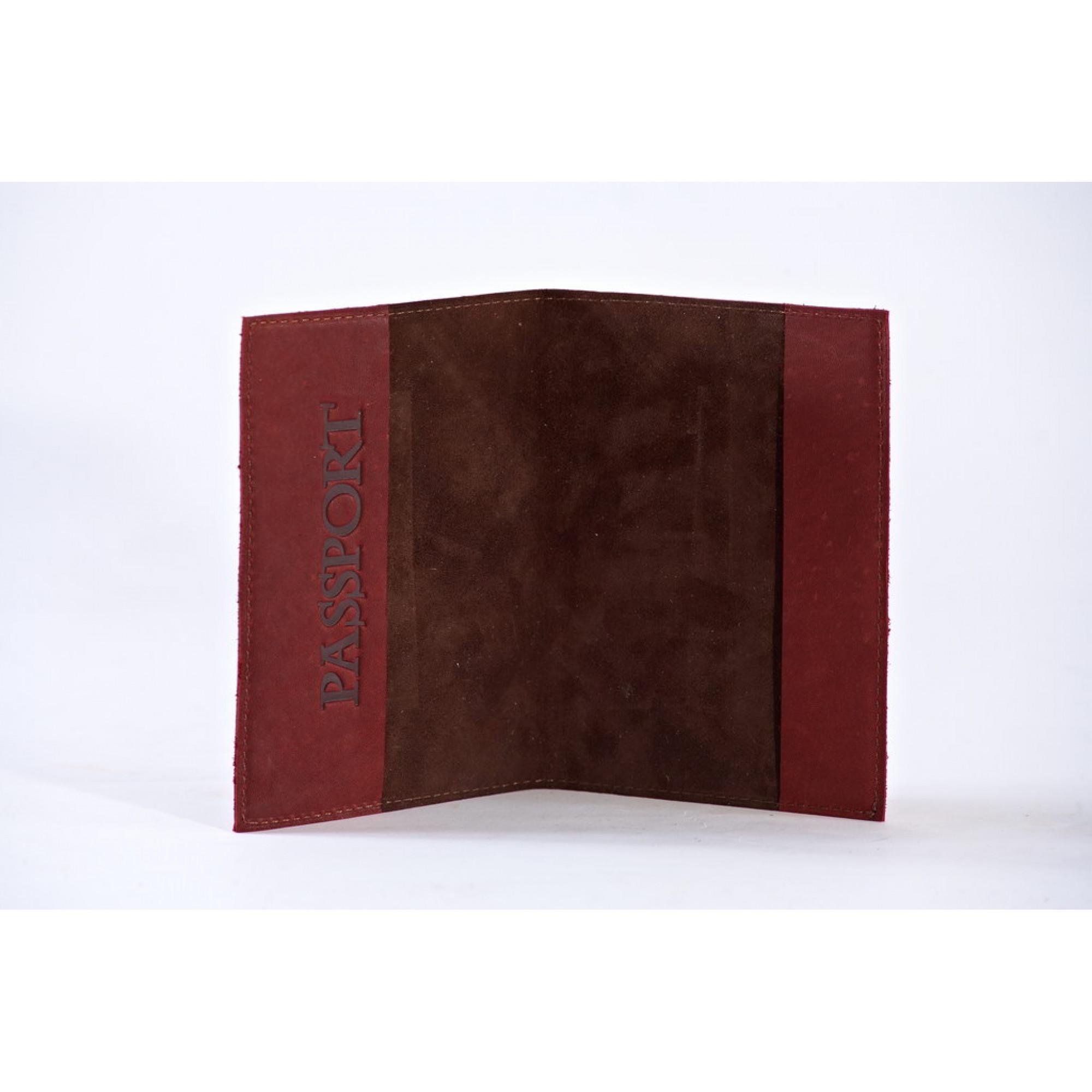 Обложка на паспорт   Средневековый   Коричневый