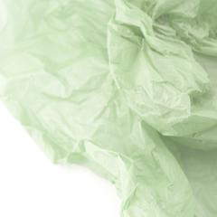 Водостойкая тишью для цветов, нежно-бирюзовая, 0,6 м*10 м
