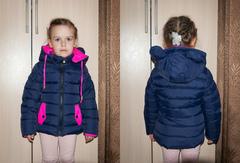 """Одежда дет. """"Для девочек"""" Темно-синяя"""