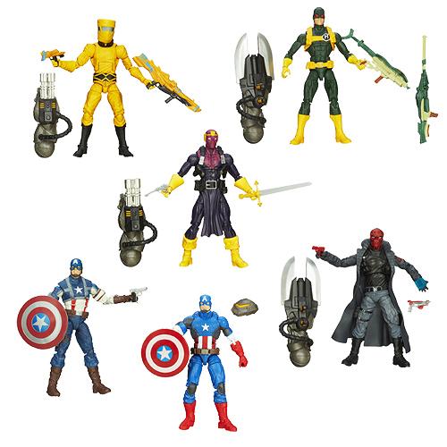 Marvel Legends Infinite Series — Captain America Wave 01