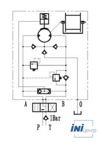 Эвакуационная лебедка IYJ23-35-60-12-ZPN