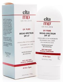 EltaMD UV Pure водостойкое солнцезащитное средство для лица и тела SPF47 114г