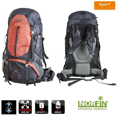 Рюкзак NORFIN Newerest 65