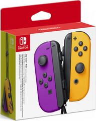 Набор контроллеров Joy-Con (Nintendo Switch, неоновый фиолетовый / неоновый оранжевый)