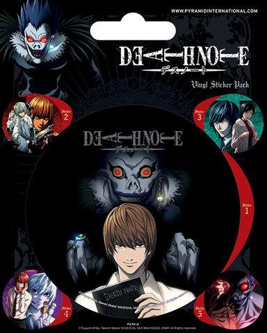 Стикерпак «Death Note»