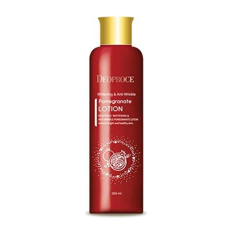 Антивозрастной лосьон с экстрактом граната Whitening & Anti-Wrinkle Pomegranate Lotion DEOPROCE