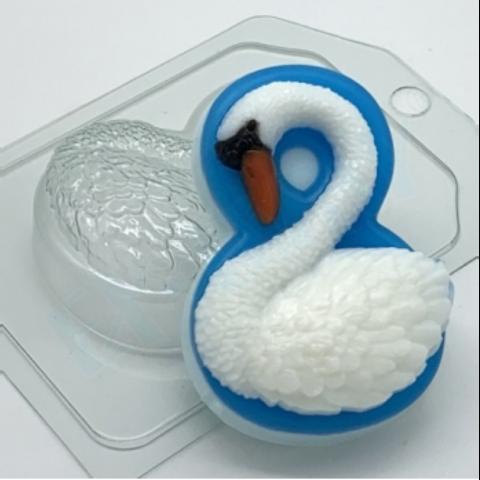 8 марта - Лебедь, форма для мыла пластиковая