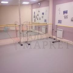 Мобильный балетный станок МН1-1 однорядный