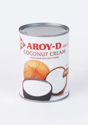 Сливки кокосовые (жирность 20-22%) в ж/б Aroy-D, 560 мл