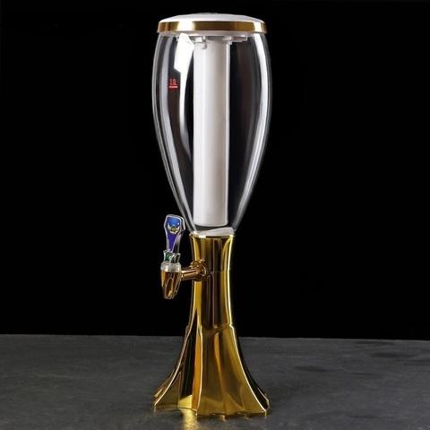 Пивная башня «Вавилон» Gold, 2 литра