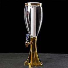 Пивная башня «Вавилон» Gold, 2 литра, фото 1