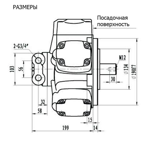 Гидромотор IPM3-350
