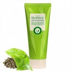 Увлажняющая пилинг-скатка для лица Deoproce на основе зелёного чая 170 гр