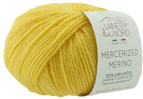 Пряжа Mercerized Merino (Мерсеризед Мерино). Желтый. Артикул: 21