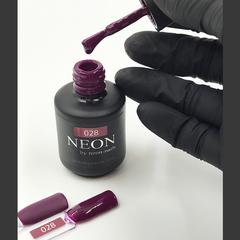 NEON, гель-лак Plump № 028 , (12 ml) винный сливовый
